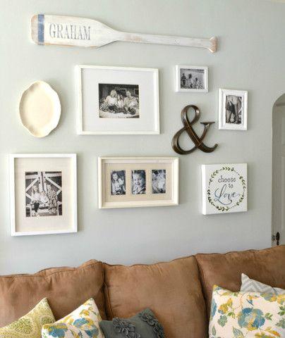 Personalized Wood Oar Nautical Wall Decor Decor Oar Decor