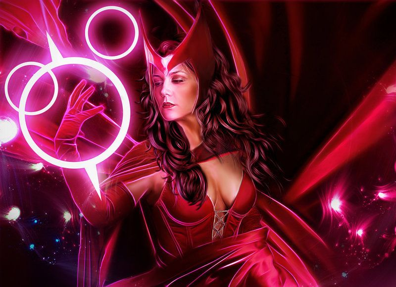 Scarlet Witch Wallpaper infinity war