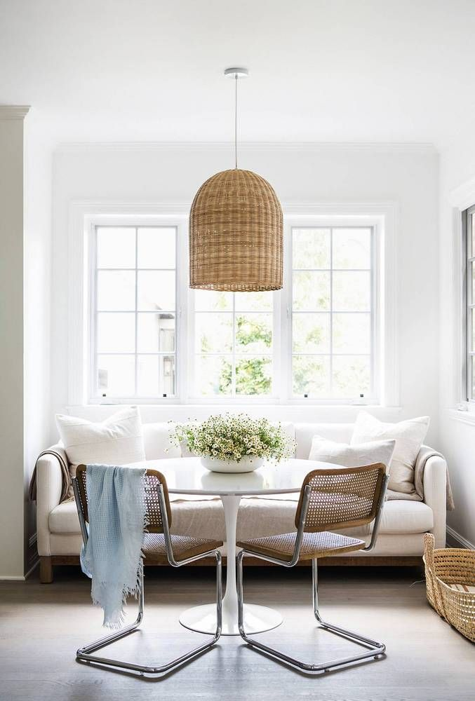 Erin Featherston's new Hollywood home, as seen in Domino | Santa Barbara Pendant via #serenaandlily