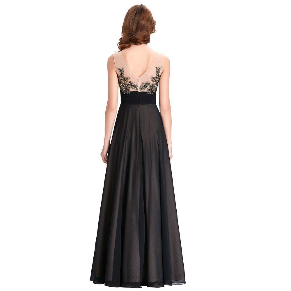 Kate kasin lace appliques bridesmaid dresses long patterns floor