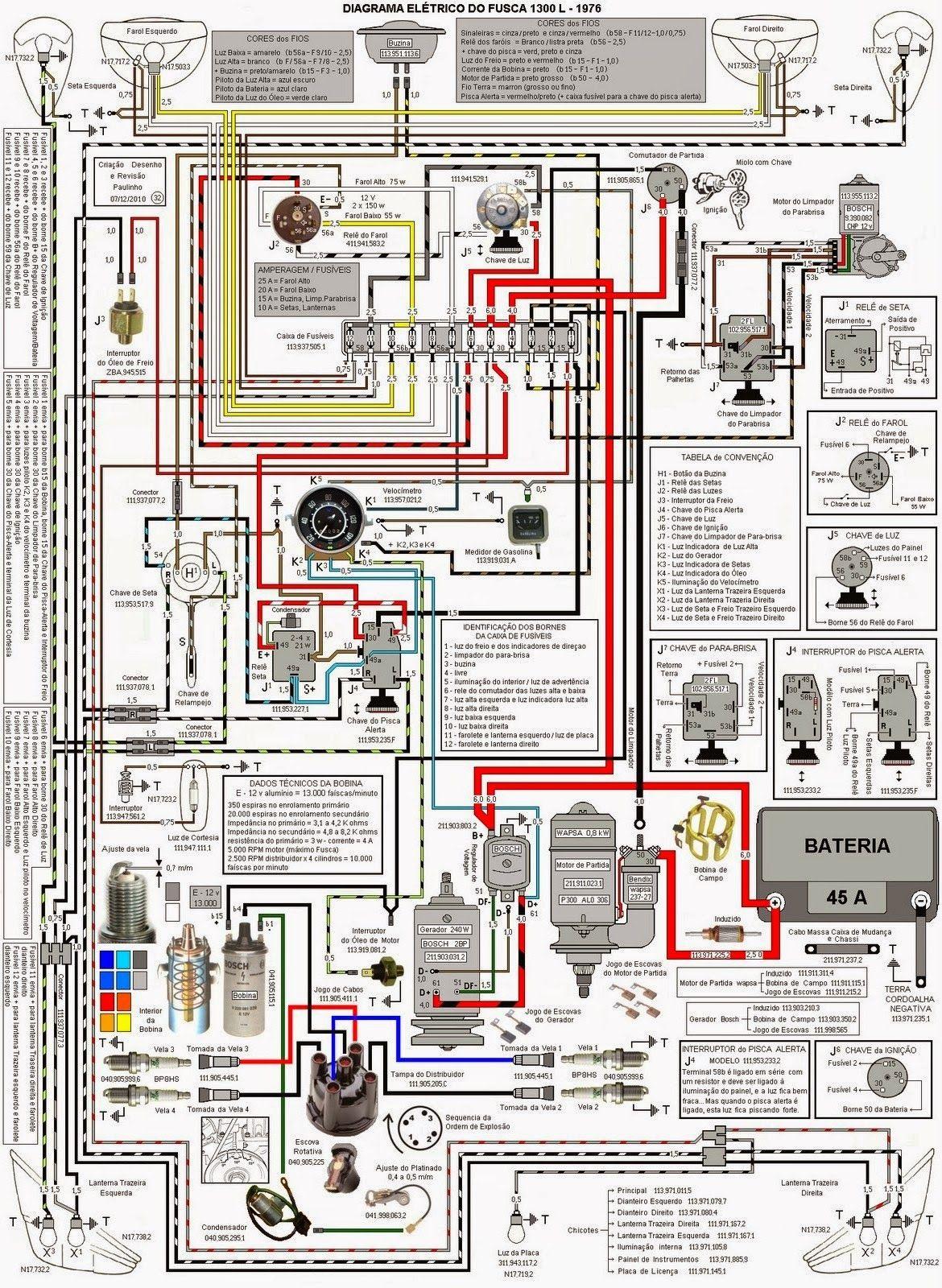 Esquema Fusca Jpg 1170 1600 Motor Vocho Motor De Vocho Vw Vocho