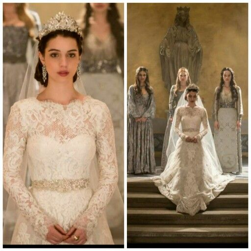 Celebrity Worst Wedding Dresses: Wedding Dress Of The Cw Tv Show Reign I Want It So Bad To