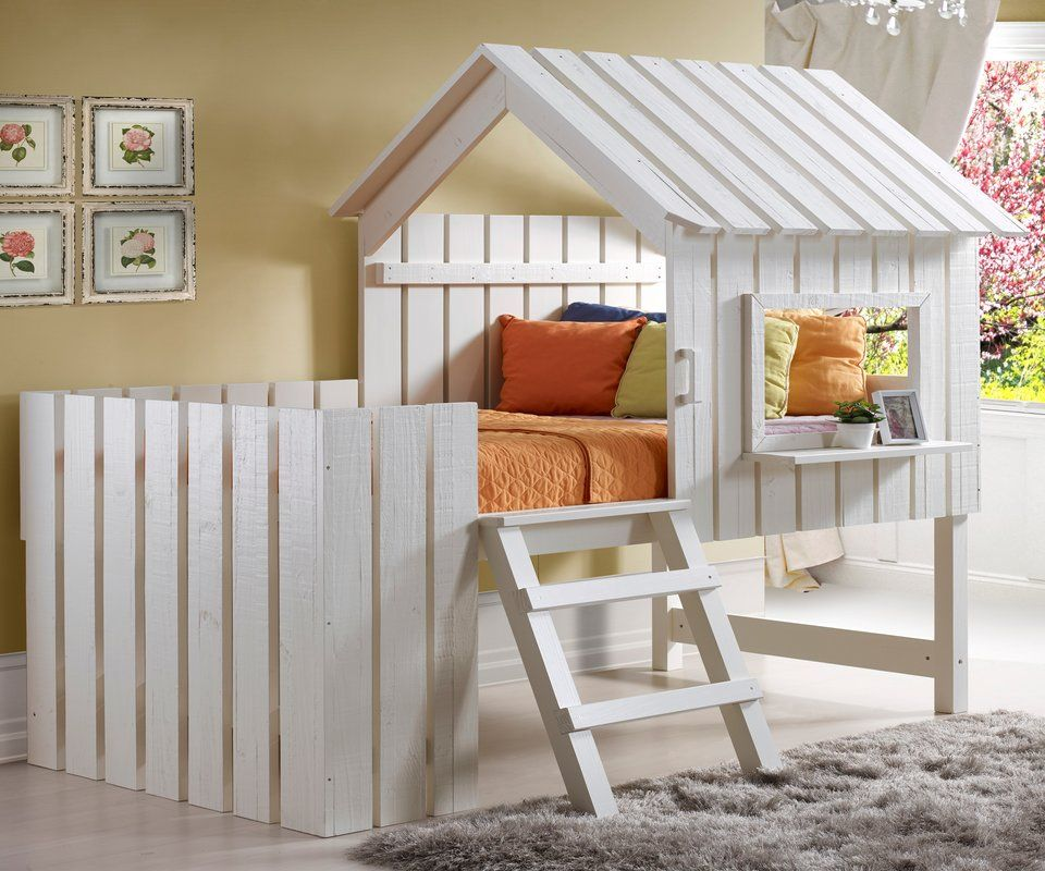 Marvelous The Donco Kids Cabana Twin Low Loft Bed Was Made For Maximum Comfort Plus  Adventure.