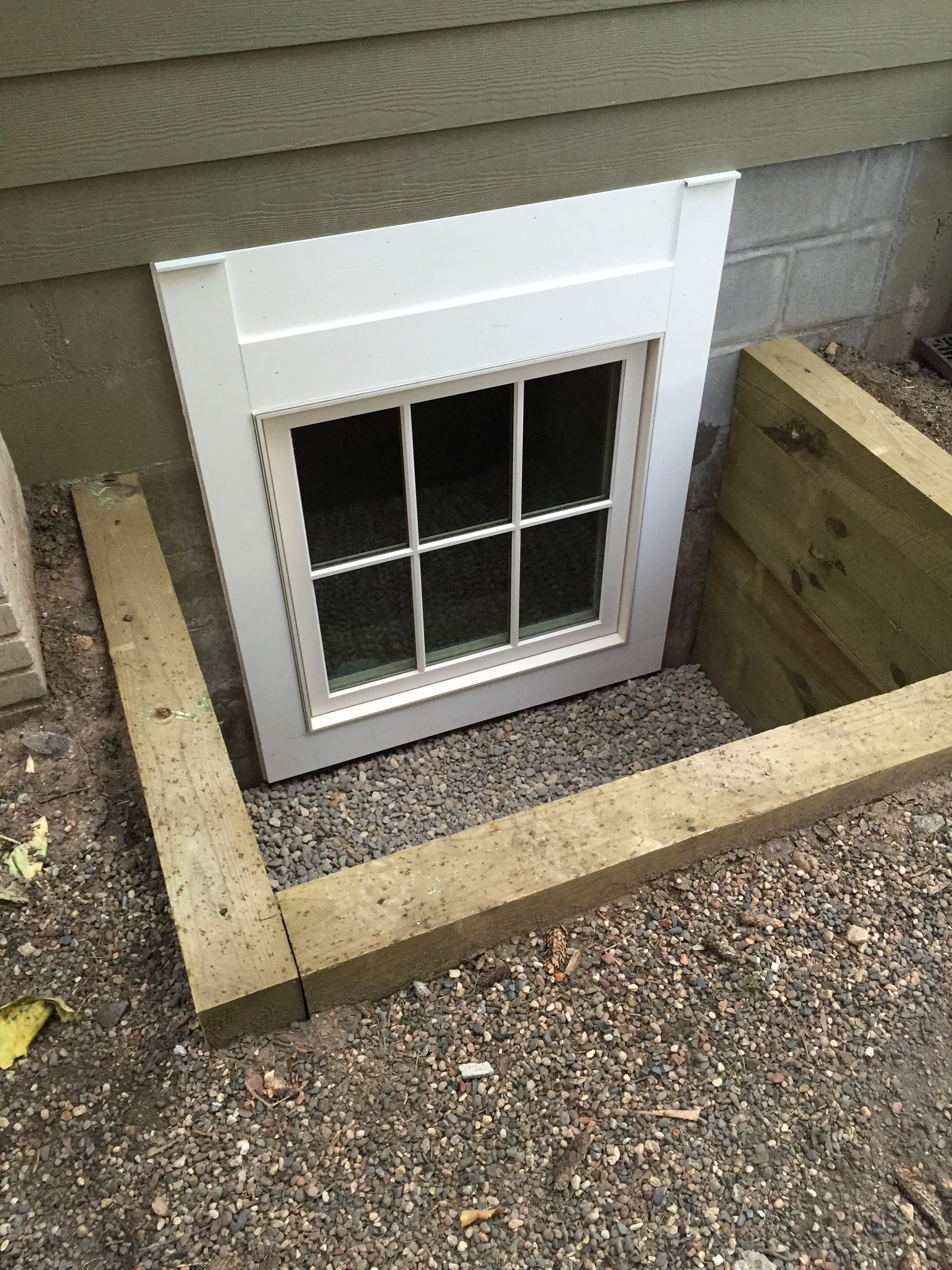 custom size marvin egress to match customers existing egress window rh pinterest com