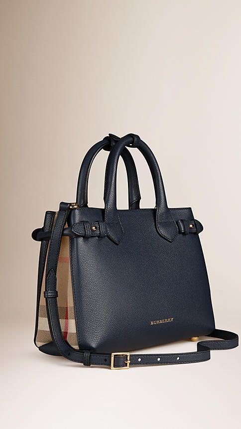 House check compact purse - Black Burberry joCNgPN2