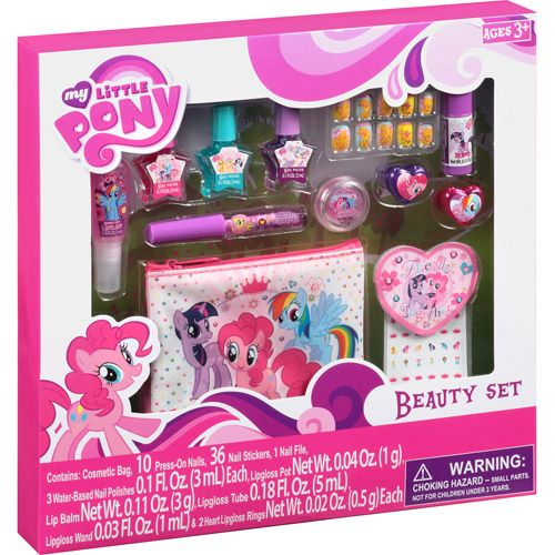 My little pony beauty set 57 pc top beauty gifts walmart i my little pony beauty set 57 pieces walmart negle Images