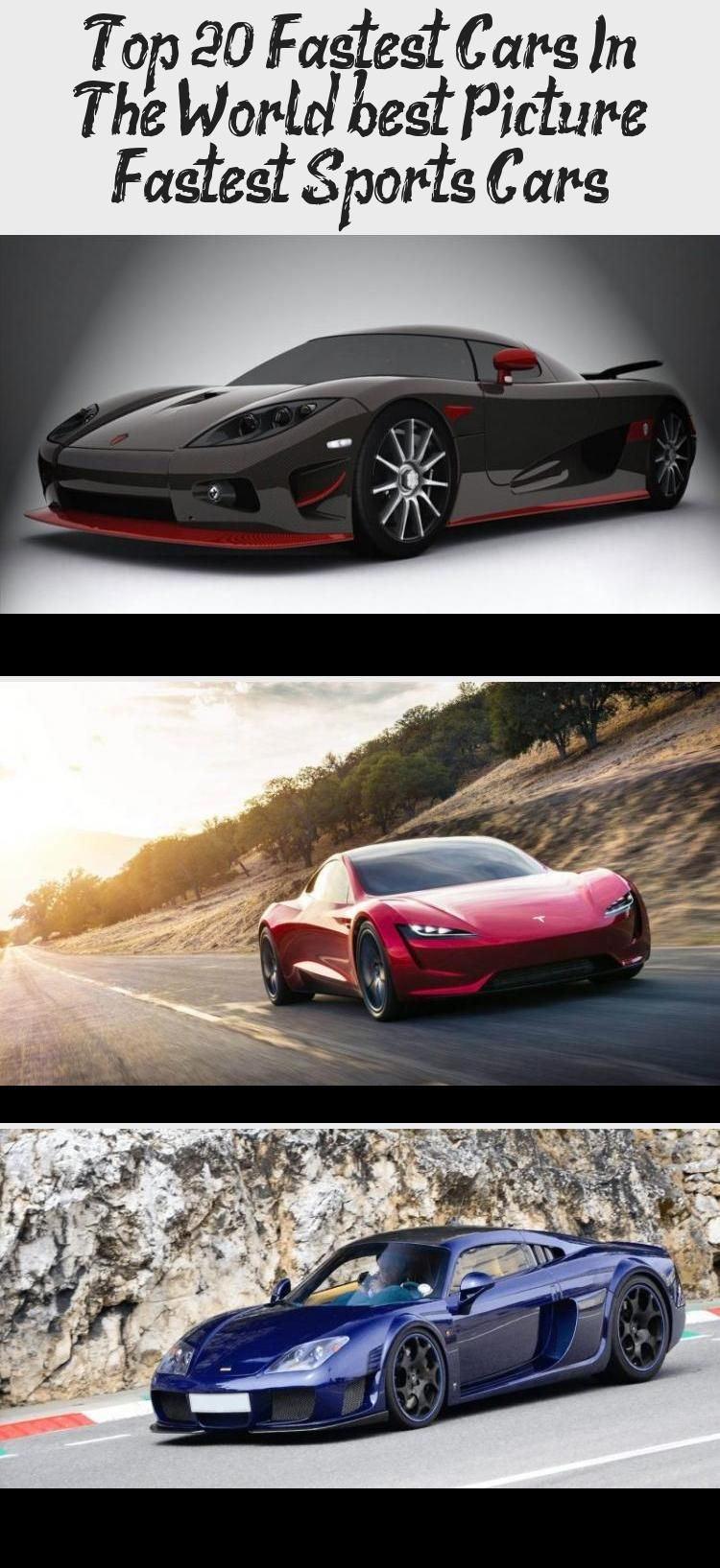 Top 20 Fastest Cars In The World Best Picture Fastest Sports Cars Car In 2020 Fast Sports Cars Sports Cars Fast Cars