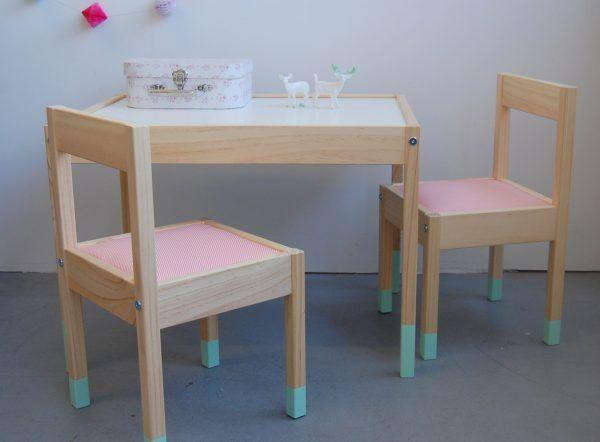 Diy Ikea Hack Table Latt Www Thelittlespot Com Diy Ikea Table Et Chaise Enfant Deco Chambre Enfant