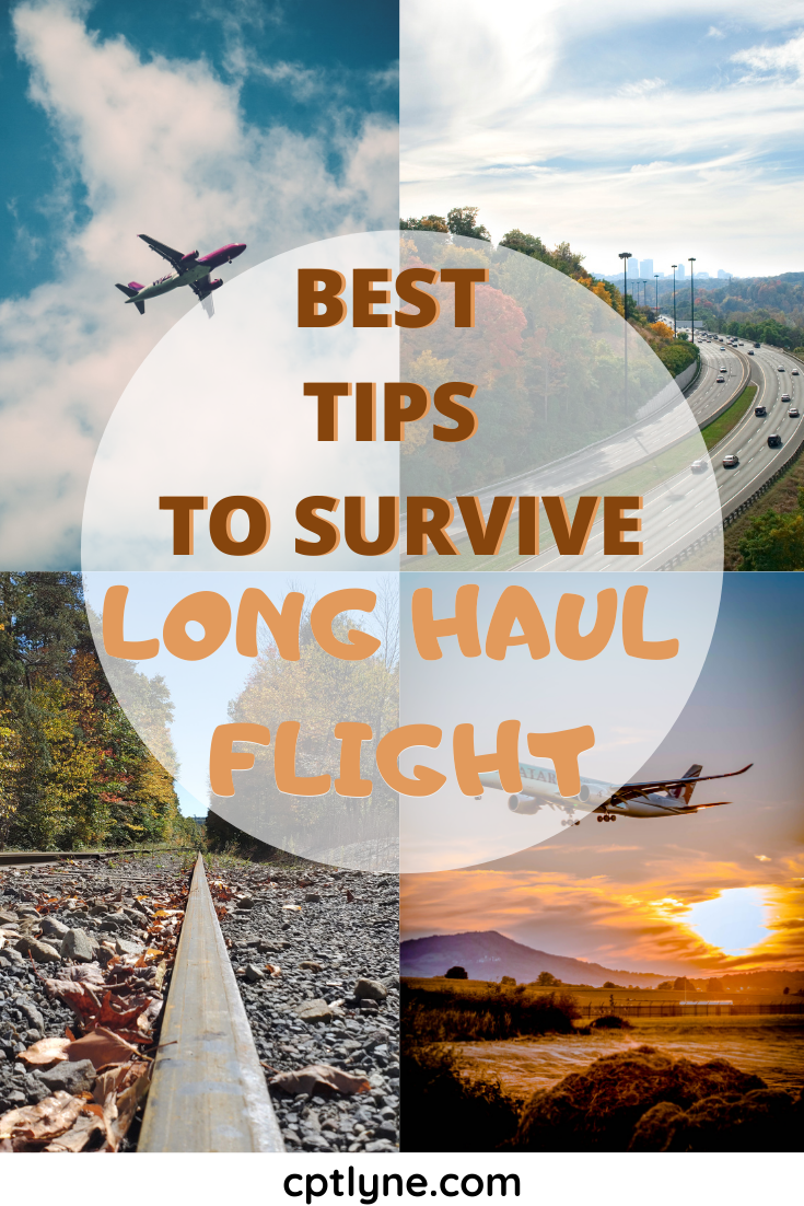 Are you flying a long haul flight soon? Then how about you read all the best travel tips to make the most out of your journey up in the sky. With my epic guide to long haul flight, you'll learn that flying to the other side of the world doesn't have to be painful if you prepare beforehand even when you travel in economy class! So, now you'll know how to survive long haul flight! #travelingtips #longhaulflight #travelguide #Traveltips #travelhacks