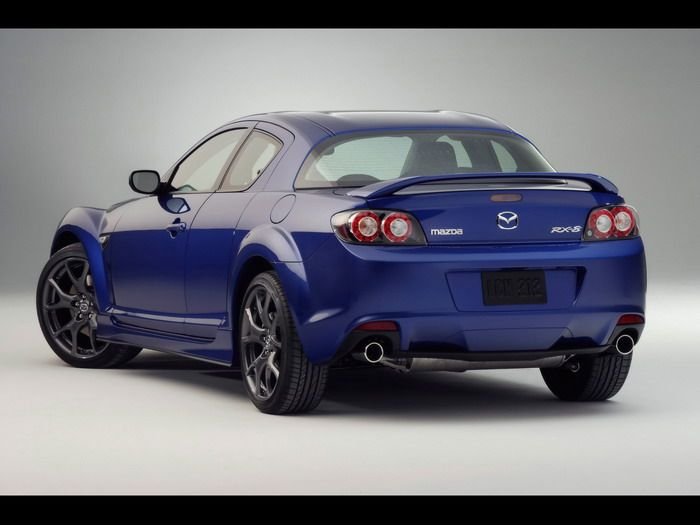 Mazda RX8  Rotary engine allows it to run at up to 9,000 RPM