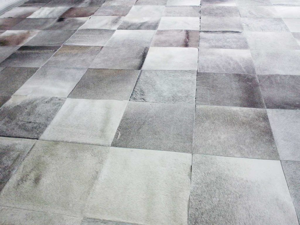 Custom Project Gray Patchwork Cowhide Rugs In Squares Patchwork Cowhide Cow Hide Rug Patchwork Cowhide Rug