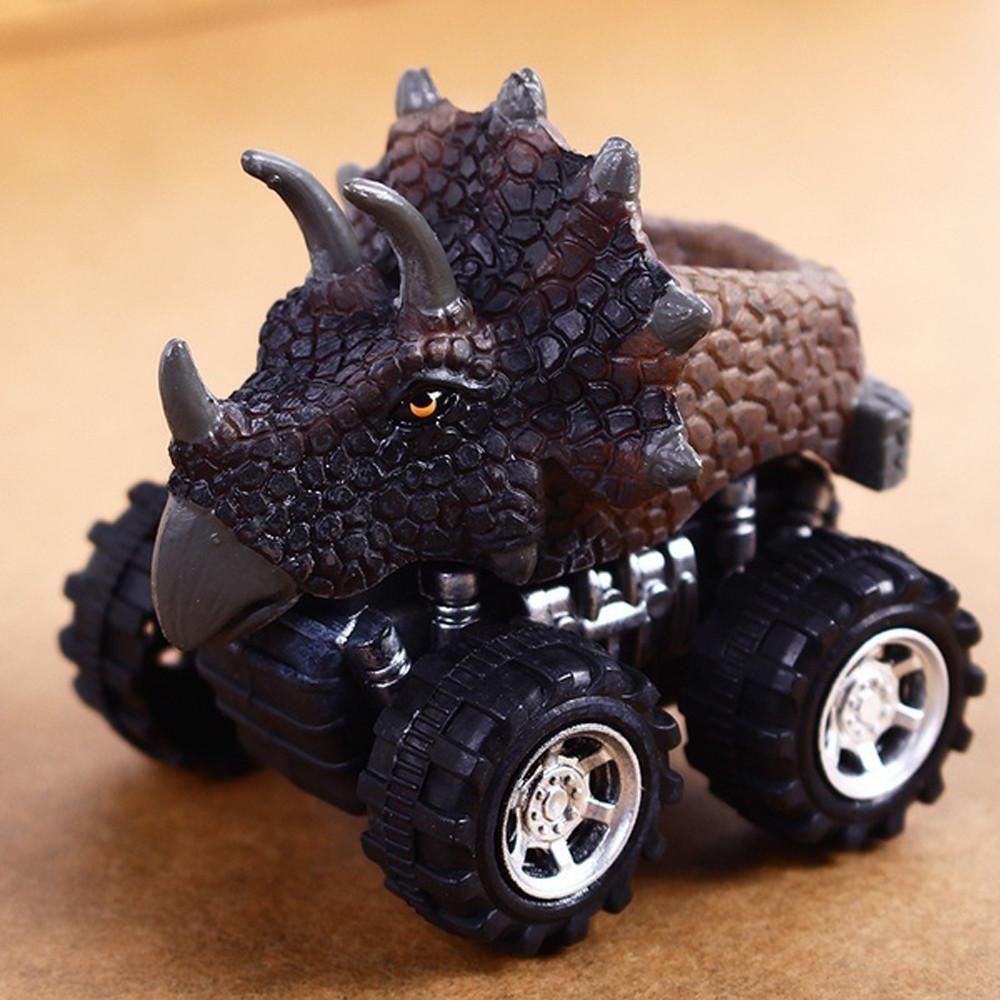 Children/'s Day Gift Toy Dinosaur Model Mini Toy Car Back Of The Car Gift