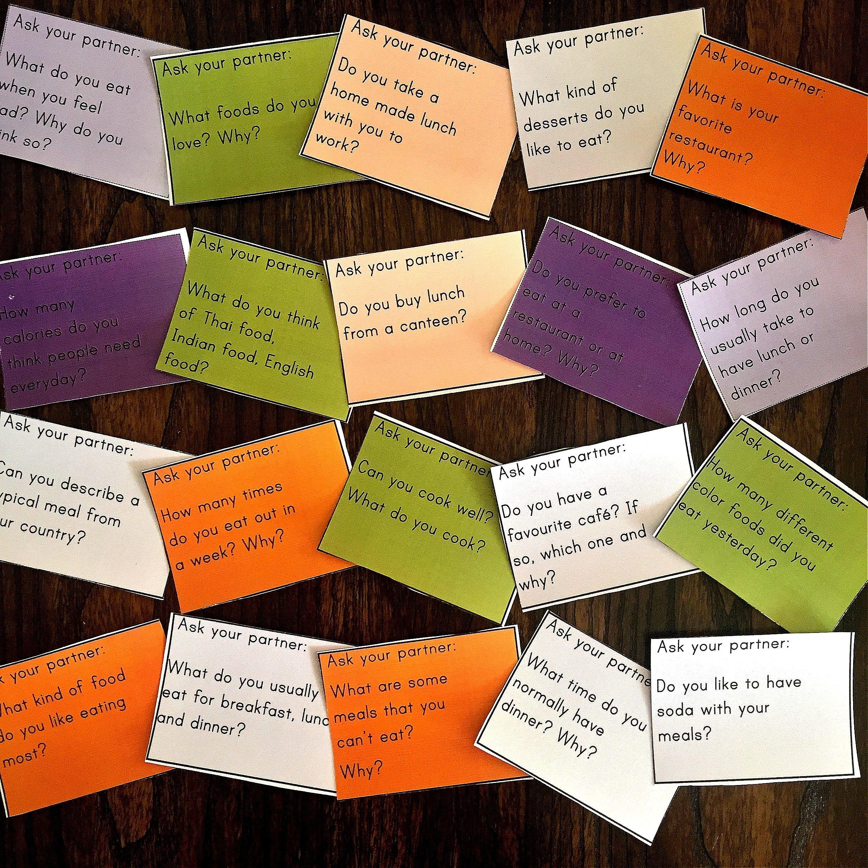 Conversation Starter Role Play Cards Esl Pack 2