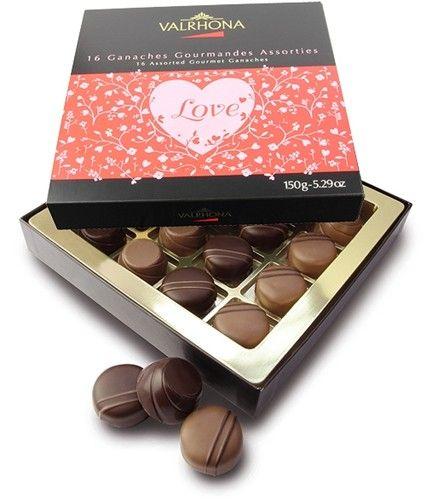 Valrhona Valentines Chocolate Box 16 95 Valentine S Gifts