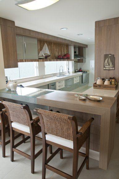 ilha de cozinha - Pesquisa Google  BARRAS Y COCINAS DE ENSUEÑOS  Pinterest