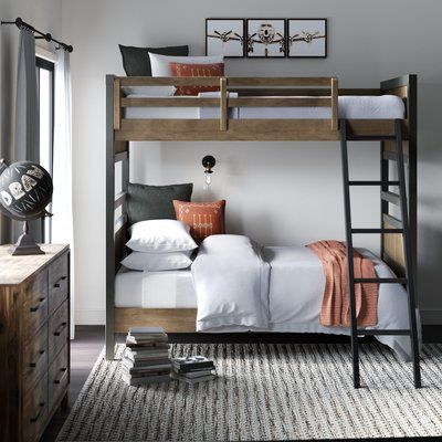 Greyleigh Strasburg Twin over Twin Bunk Bed images