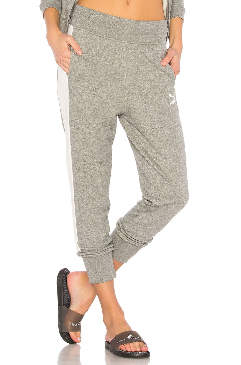 b7994f7a23 Puma Archive Logo T7 Sweatpant in Grey | REVOLVE | Wants - Spring ...