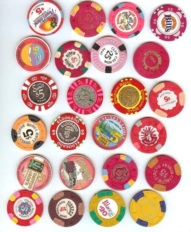 collecting nevada gambling chips