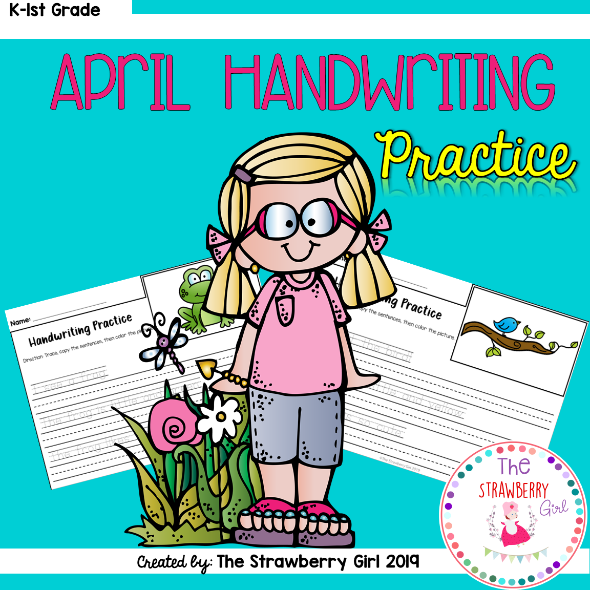 April Handwriting Practice