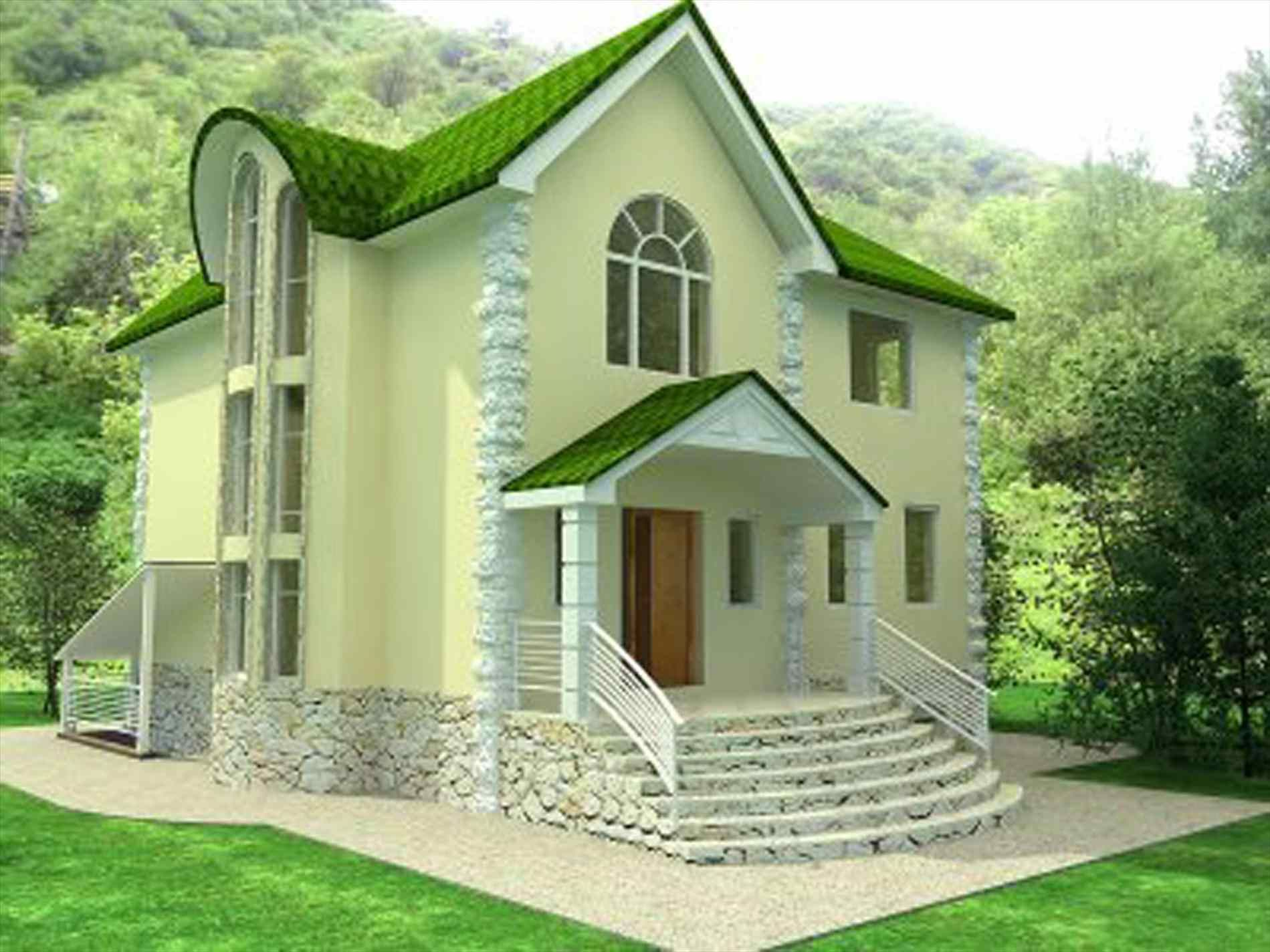 Exterior House Colors With Green Roof Home Roof Ideas House Roof Design House Designs Exterior House Exterior