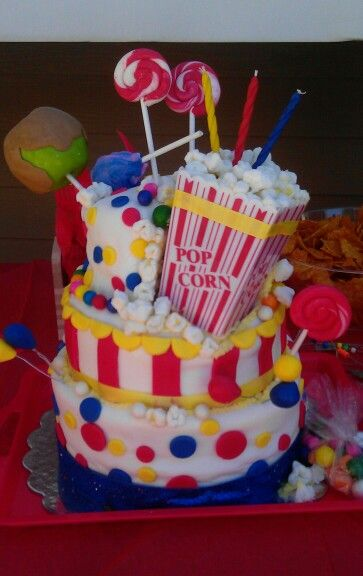 Amazing My Kids Birthday Cake Carnival Theme Made By Shantel Holmes In Funny Birthday Cards Online Inifofree Goldxyz