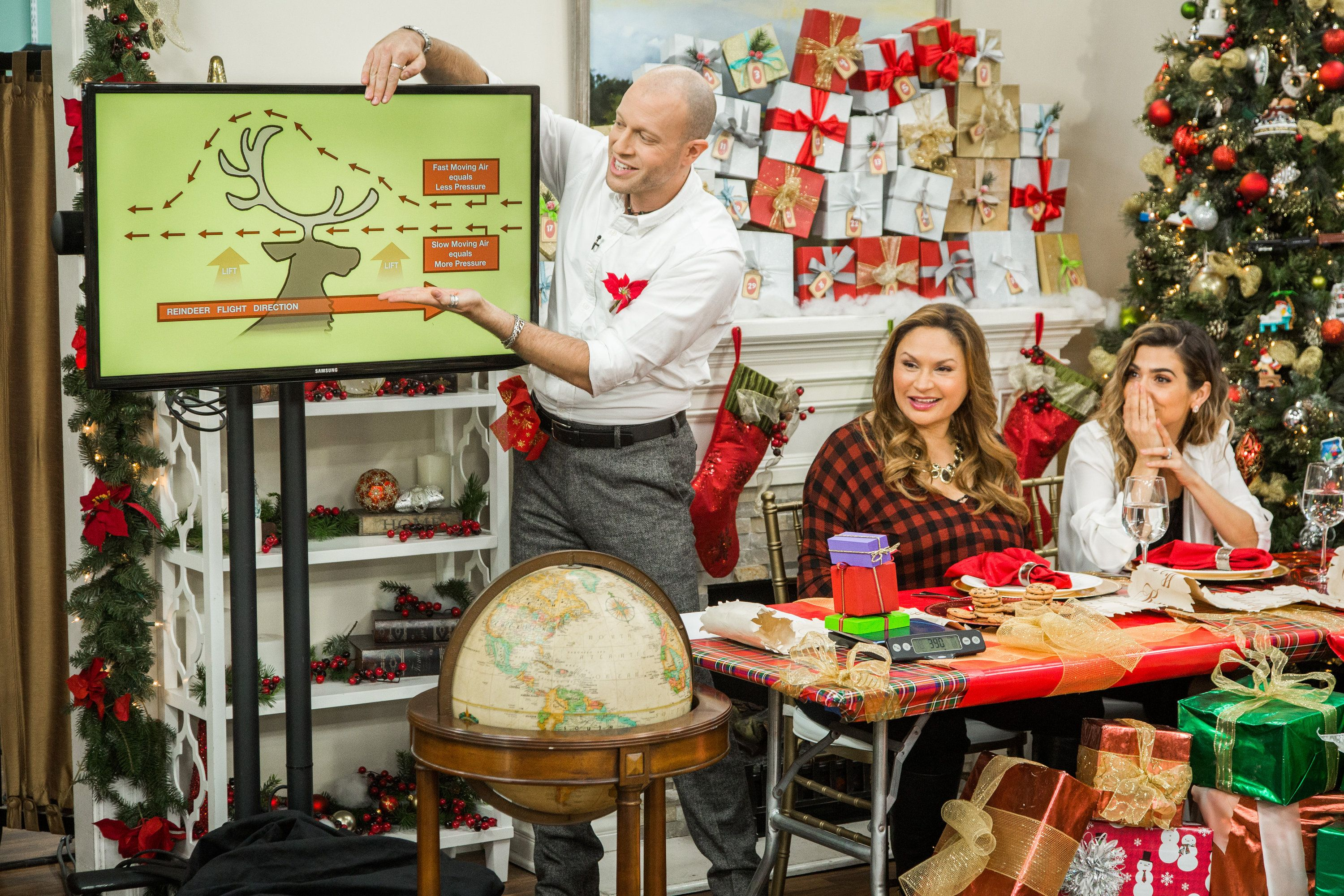 DIY Stocking Holder-Home & Family, Hallmark Channel, 12/23/2016