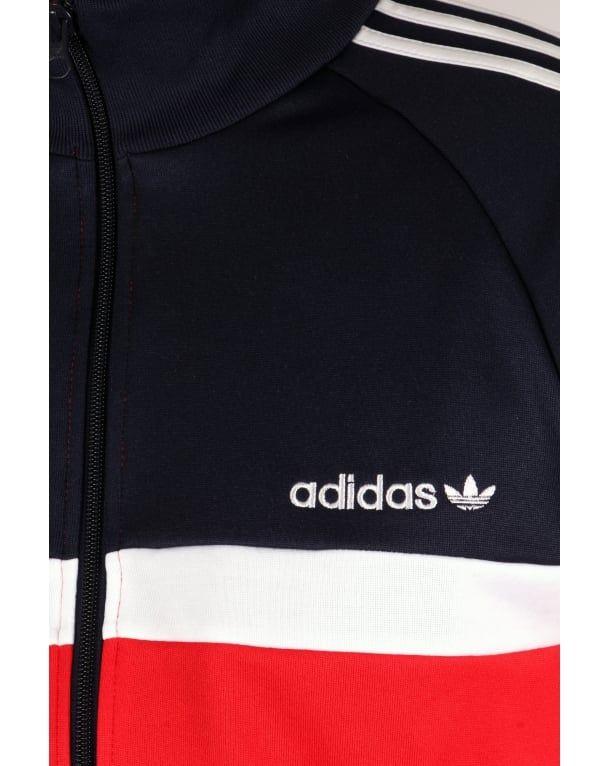 Itasca Track Rednavy jacket Adidas tracksuit Originals Top q7Ew55gn4C