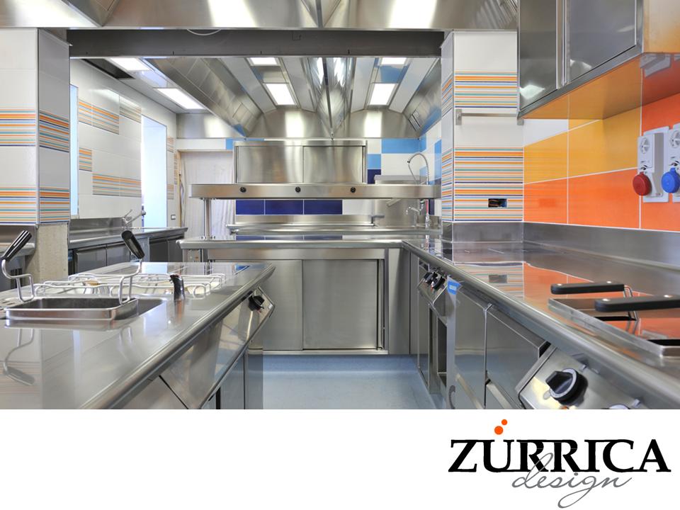 Las mejores cocinas industriales una cocina industrial for Material de cocina industrial