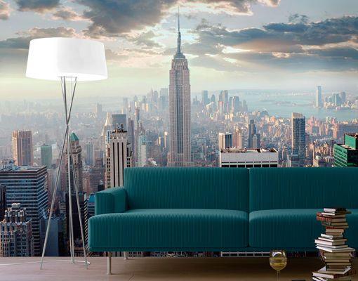 Photo Wall Mural NEW YORK SUNRISE 280x200 Wallpaper Murals Motif XXL ...