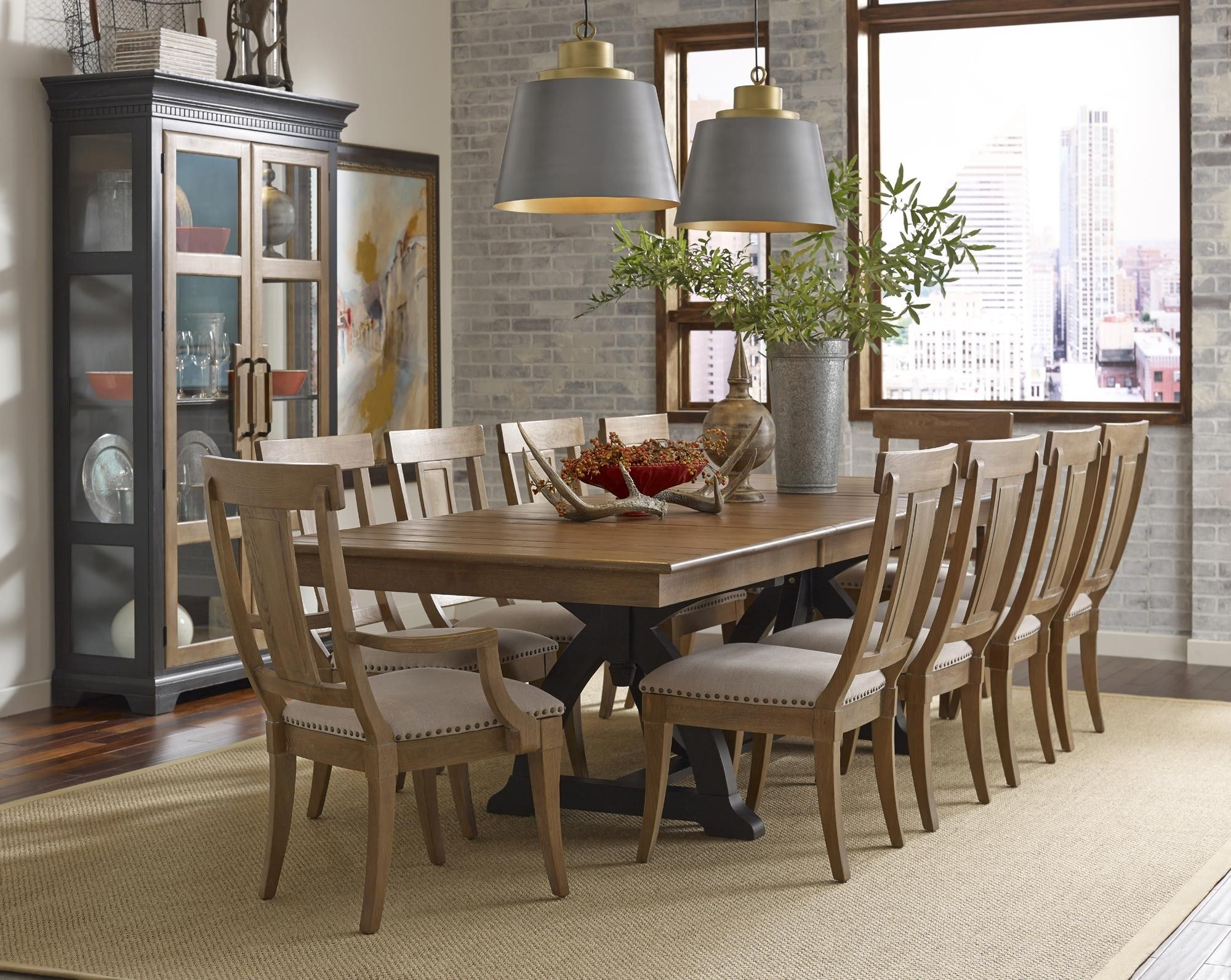 Stone Ridge Trestle Dining Room Set Kincaid Furniture Home