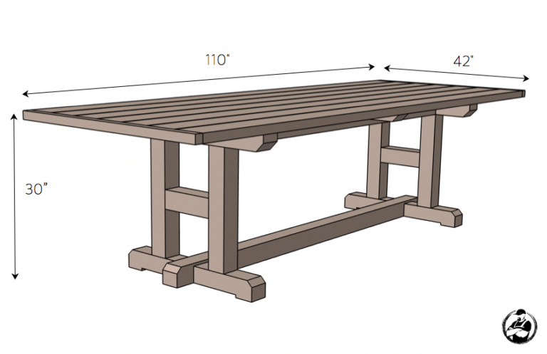 Diy H Leg Dining Table Plans Dimensions Buildwoodtable Dining Table Legs Diy Dining Table Farmhouse Dining Table