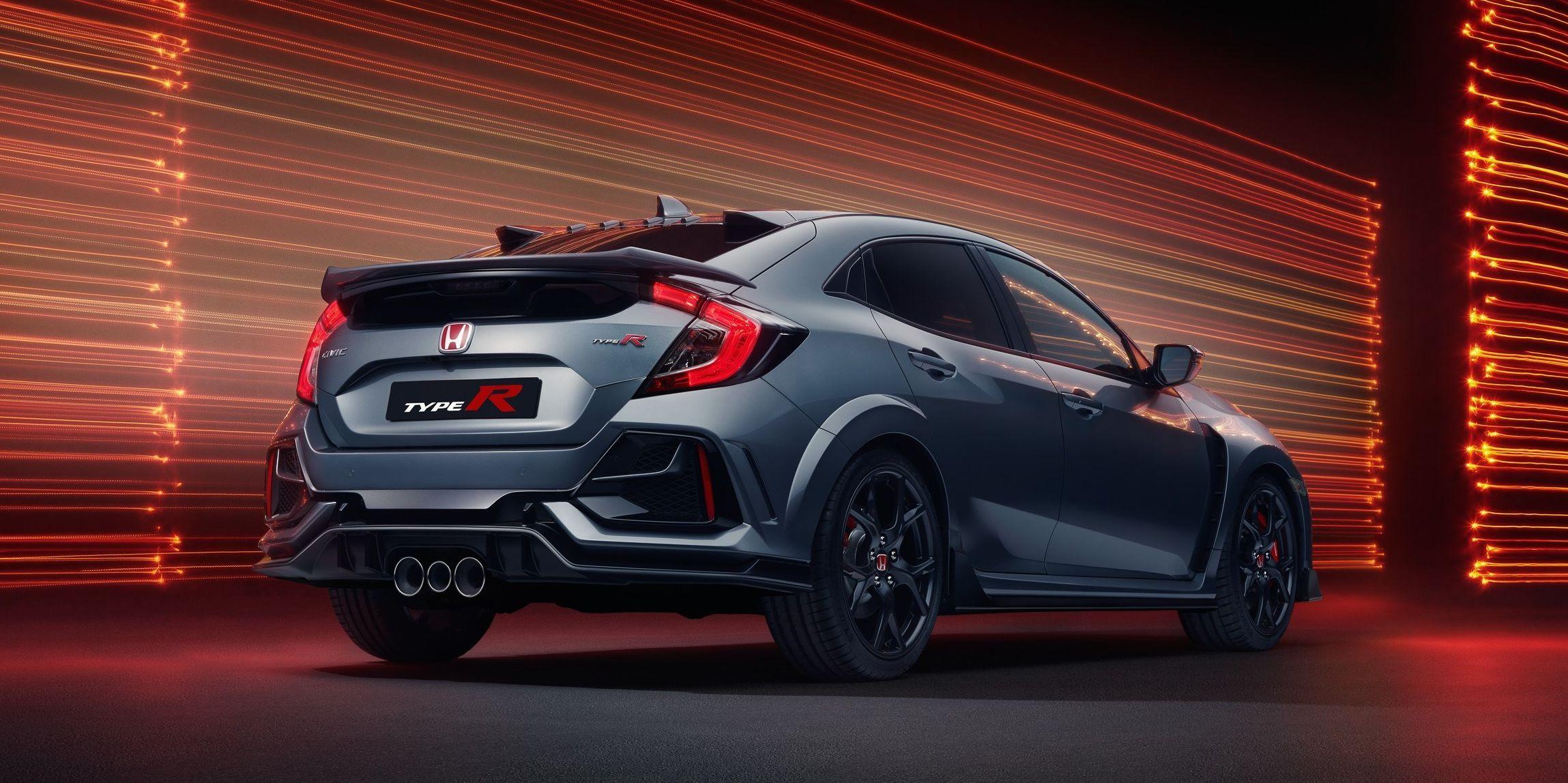 Honda Civic Type R Sport Line Debuts With No Wing And More Comfort Honda Civic Type R Honda Type R Honda Hatchback