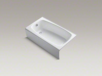 Kohler Seaforth 54x30 Tub Standard Bath Small Bathtub Small Tub Kids Bath Tub