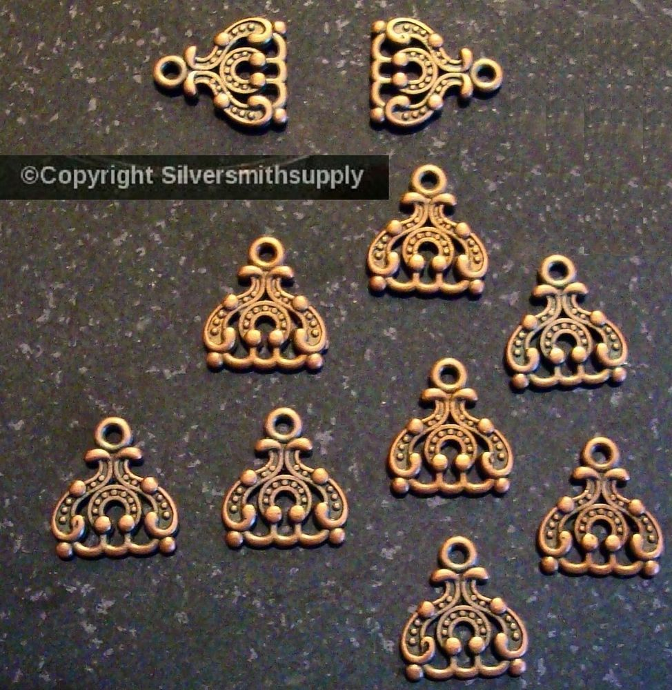 Copper plt deco chandelier earring findings 3 dangle 3 to 1 spacer copper plt deco chandelier earring findings 3 dangle 3 to 1 spacer bars fpe153 arubaitofo Image collections