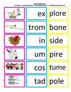 Adjectives Worksheet 1st Grade Vccvce  Syllable Card Match With Worksheet Silent E  Reading  Bedmas With Fractions Worksheet Excel with Temperature Worksheet Pdf Vccvce  Syllable Card Match With Worksheet Silent E Silent Ereading  Responsesyllabledaily Word Workmiddle Schoolworksheets Multiplication Color By Number Worksheets