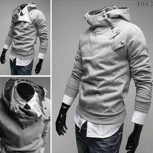 2016 High Collar Dust Coat Hoodie - Coat Jacket  - eDealRetail - 2