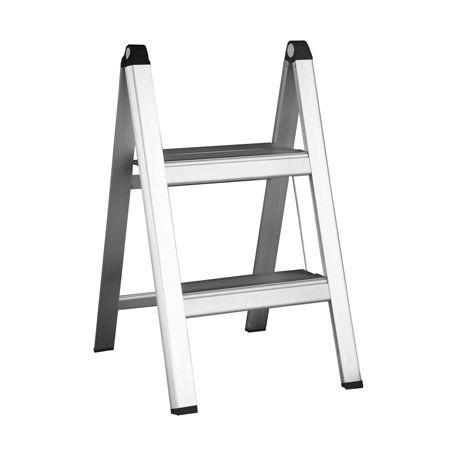 Miraculous Howards Storage World Slimline Folding 2 Step Aluminium Cjindustries Chair Design For Home Cjindustriesco