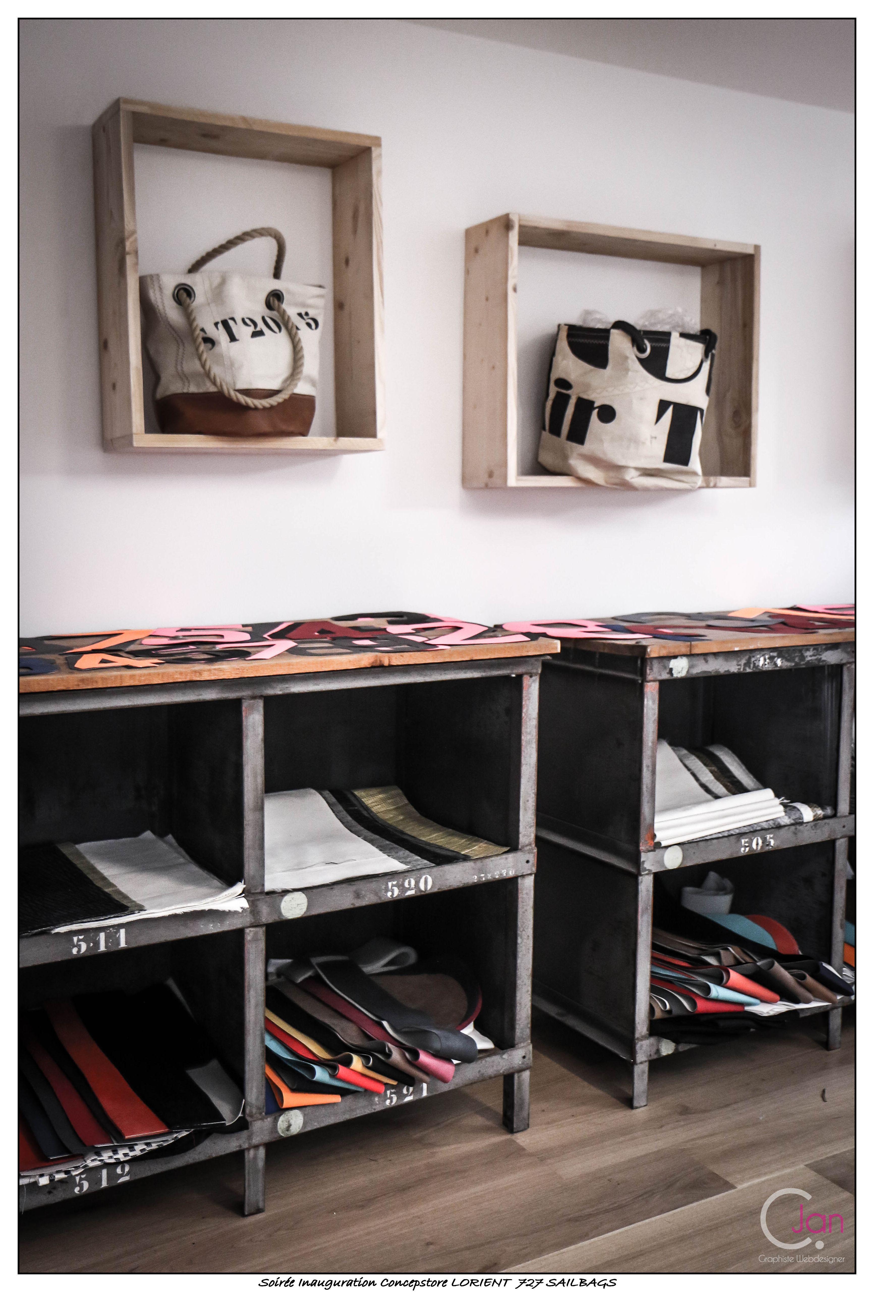 atelier couture du concept store de lorient www.727sailbags