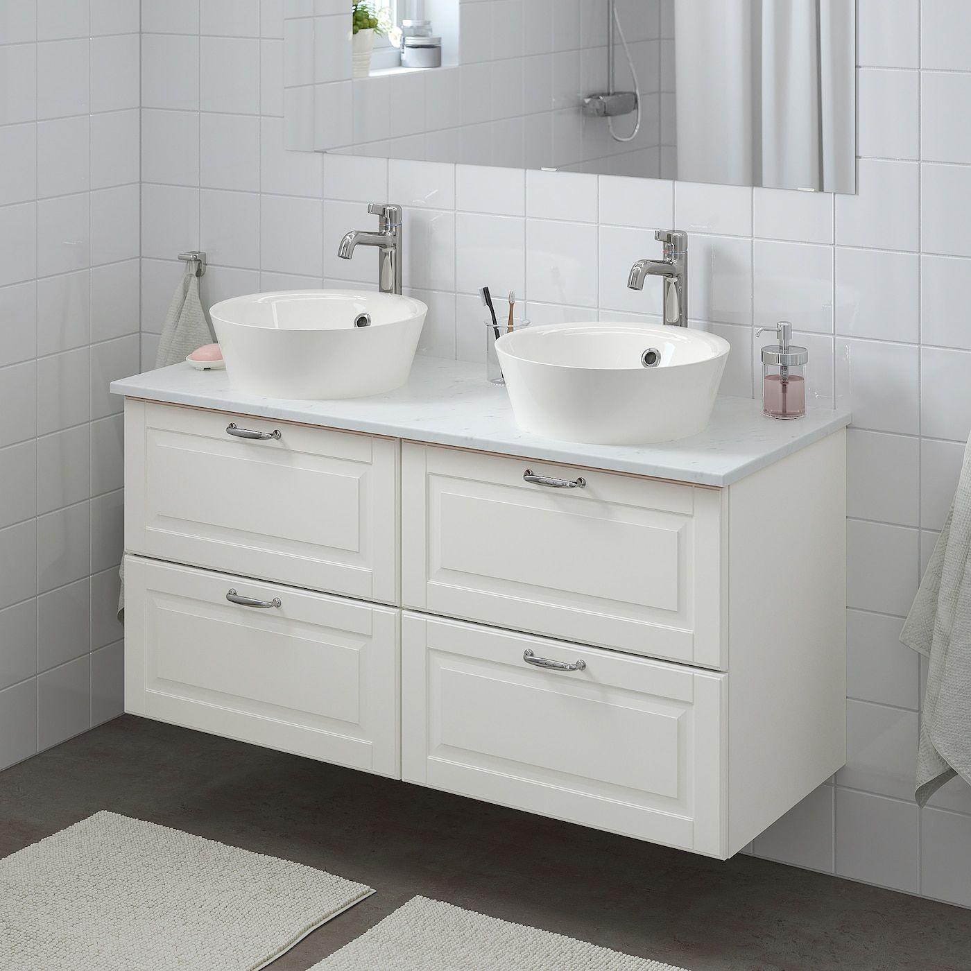 Ikea Godmorgon Tolken Kattevik Bathroom Vanity Kasjon White Bathroom Vanity Ikea Godmorgon Small Bathroom Decor [ 1400 x 1400 Pixel ]