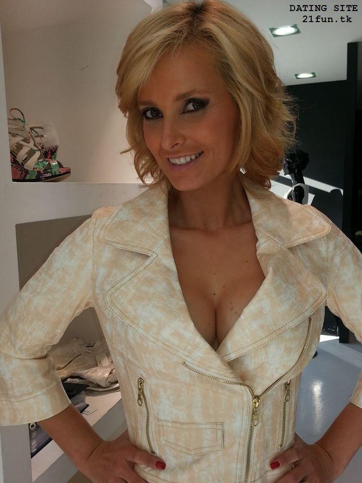 Blonde mature nice woman