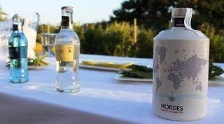 Nordes Atlantic Galician Gin En La Terraza Del Hotel Colon En Tuy