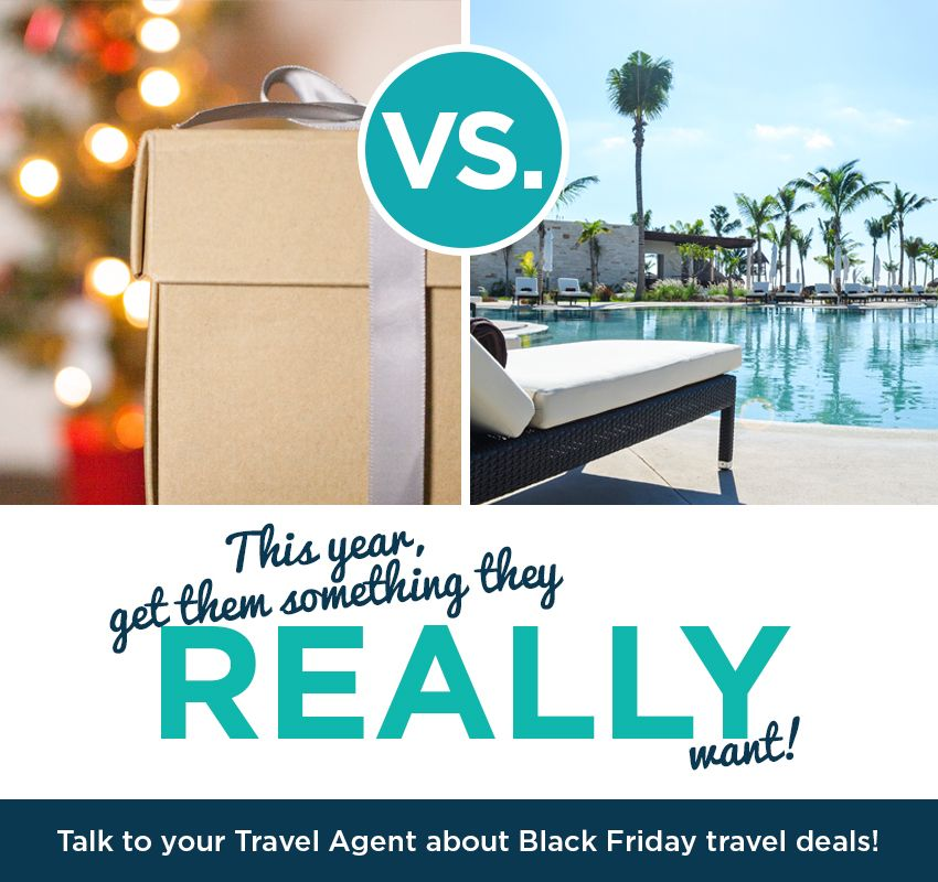 Let Your Khm Travel Agent Do The Shopping This Year Call Them About Blackfriday Travel Deals Travel Giftg Travel Deals Travel Agent Traveling By Yourself