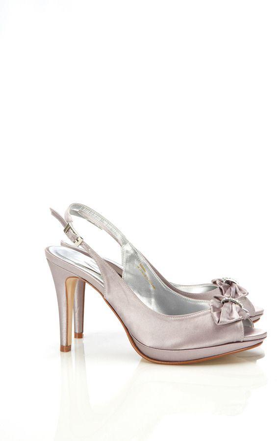 32fb720f36a Silver Diamante Sling Back Shoe- wallis sale £22.50