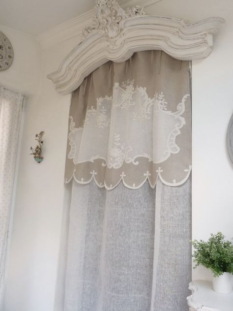 Pin By Smenaii Al Menaii On قصري Floral Curtains Shabby Chic