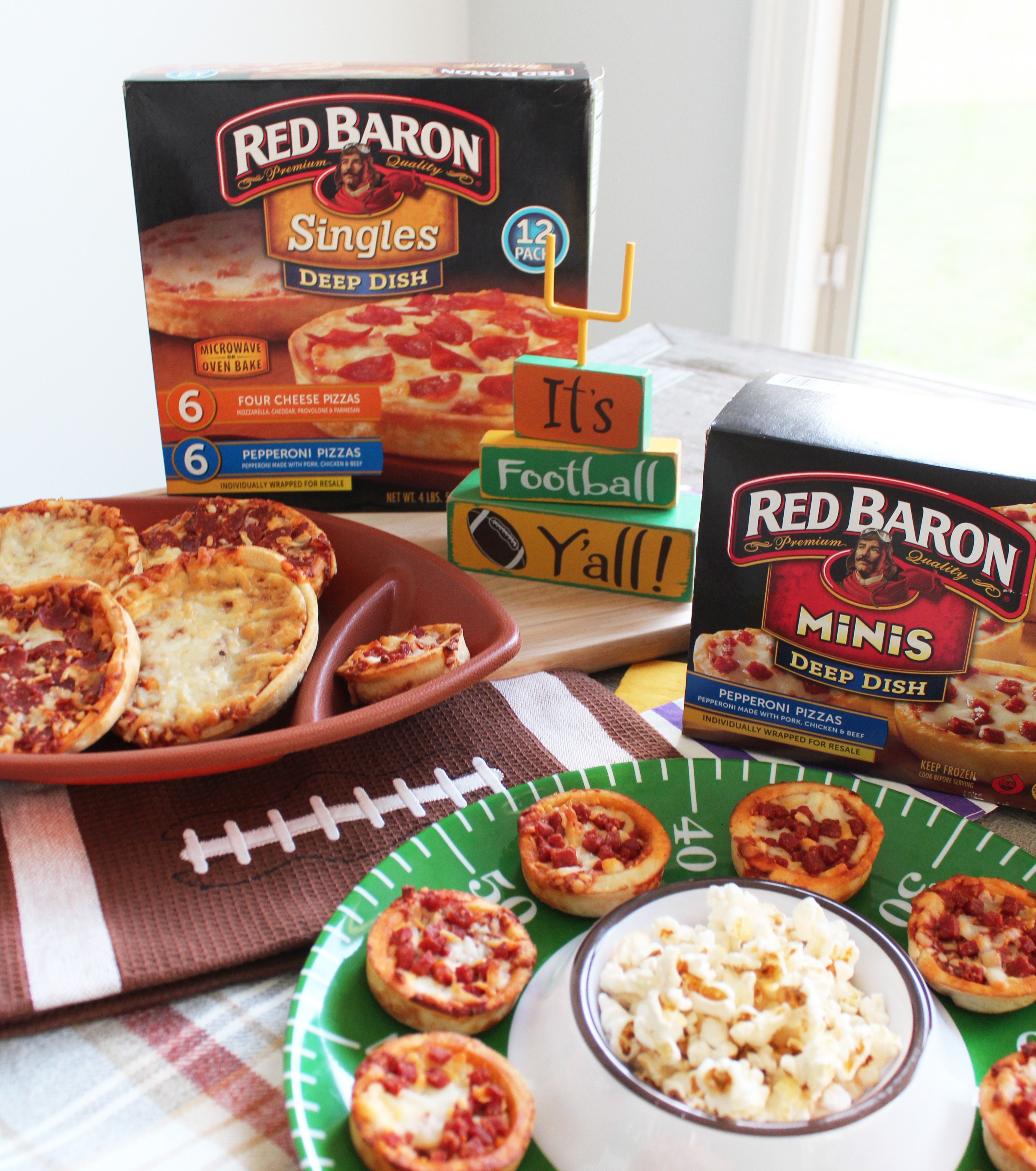 Easy Football Party Finger Foods Grilled Pizza Ad Redbarontime