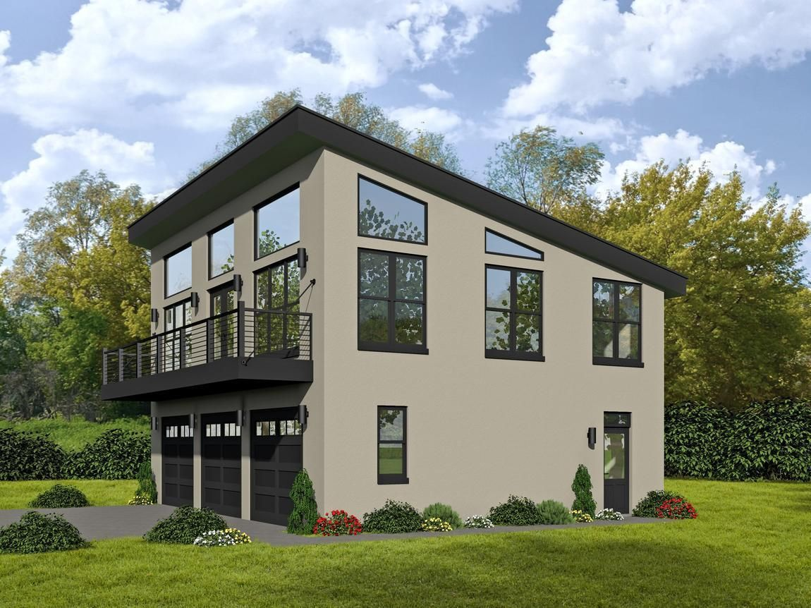 Hpm Home Plans Home Plan 763 1135 Carriage House Plans Garage House Plans Contemporary House Plans