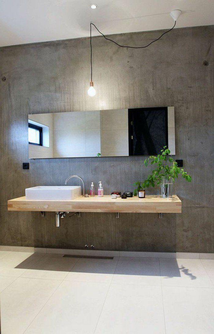 Interieur En Beton Decoratif Nos Conseils Salle De Bains Beton