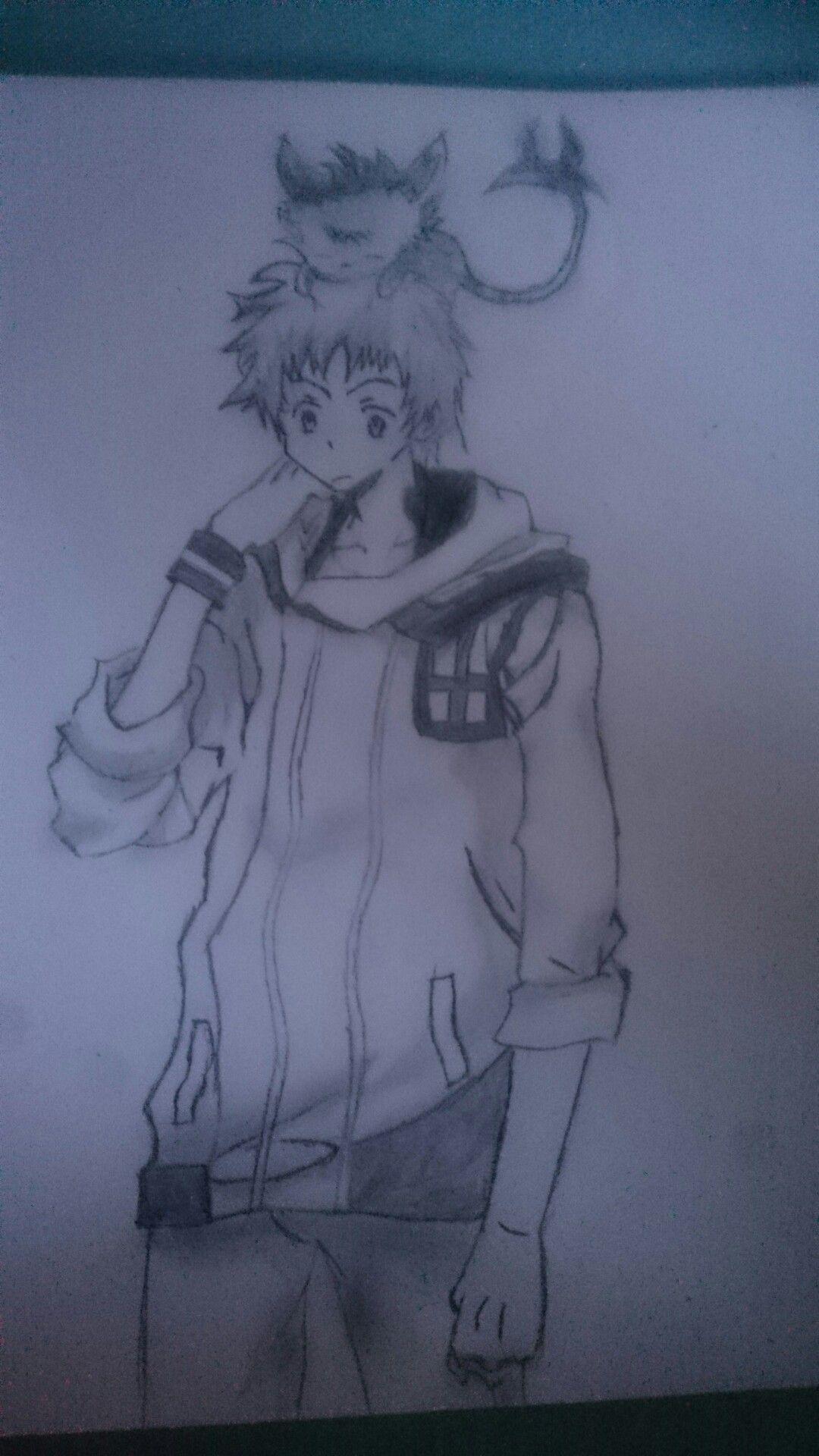 Meine nächste Zeichnung von Servamp hoffe es gefällt euch ^^   Original Bild ist bei meiner gefällt mir Pin