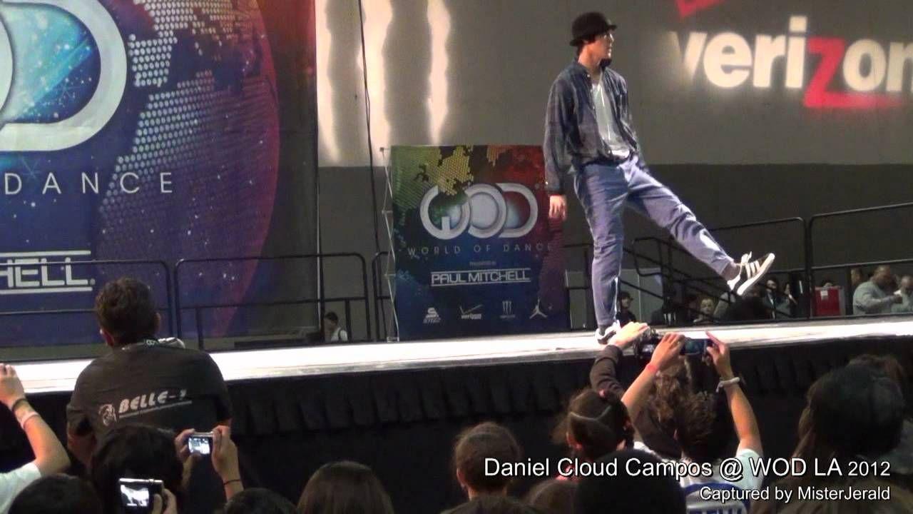 Daniel Cloud Campos || An Exclusive Front Row View - in HD || World of Dance LA 2012 || WOD LA 2012