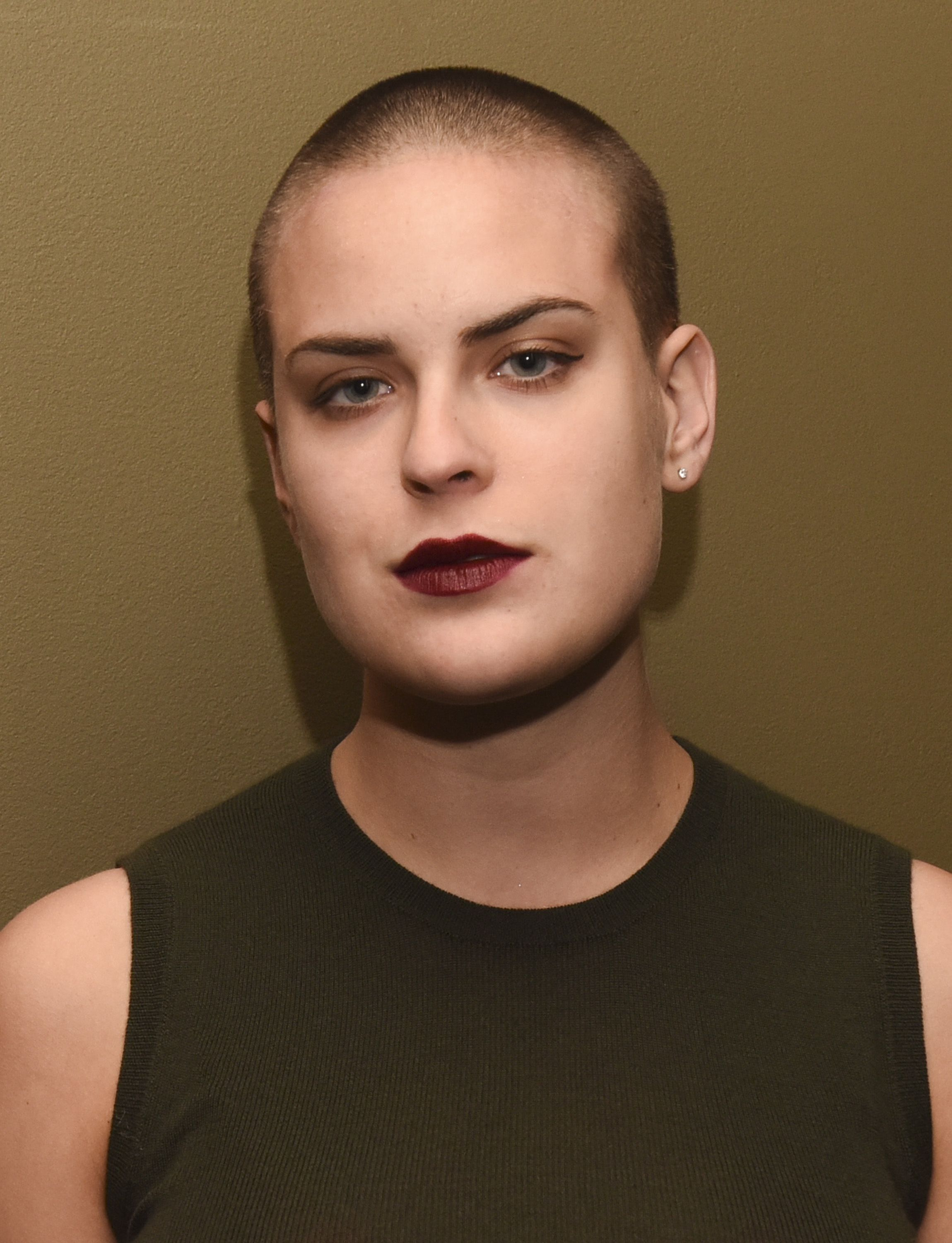Women who have shaved their heads